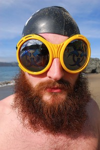 Okulary plaża